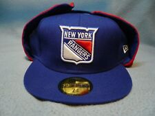 New Era 59fifty New York Rangers Fitted BRAND NEW dogear cap hat dog ear NY NYC