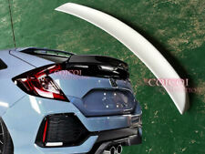 Painted HONDA 17~19 CIVIC Hatchback 5-Door ducktail trunk spoiler All Color ◎