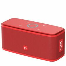 DOSS Touch Wireless Bluetooth V4.0 Portable Speaker with HD Sound and Bass Red