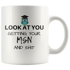 Funny Msn Graduation Gift Msn Grad Gift Idea Msn Gift Master Of Science Nursing
