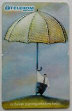 Malaysia Used Telekom Phone Card : Quote - Sediakan Payung Sebelum Hujan