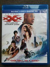New listing xXx: Return of Xander Cage (Blu-ray/Dvd, 2017) No Digital Copy Vin Diesel