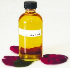 Premium Egyptian Musk Perfume Body Oil NEW - Glass - Thick & Uncut