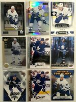 Auston Matthews 9 Card Lot O-Pee-Chee Upper Deck Silver Script Maple Leafs