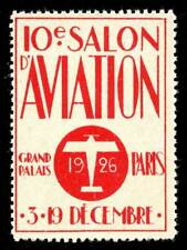 France Poster Stamp - 1926 Salon d'Aviation - Paris