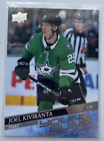 2020-21 JOEL KIVIRANTA UPPER DECK YOUNG GUNS YG ROOKIE CARD #207 ~ STARS