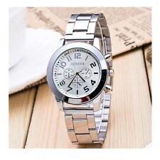 Luxury Silver Chrono Watch Numbers Time Elegant Love Present Gift UK Warranty