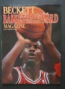 1st Basketball Beckett Price Guide Michael Jordan Cover Patrick Ewing Back Cover