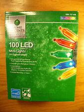 Home Accents LED Multi-Color Mini Style 100 Light 33 Ft Christmas Light-O-Rama
