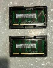 Samsung 4GB 2x2GB PC2-5300 PC5300S DDR2 667 MHz Portátil Memoria RAM SO-DIMM 200pin
