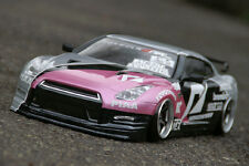 PANDORA 1/10 RC NISSAN SKYLINE GTR R35 197mm Clear Body Drift Hashiriya