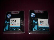 2 x Original HP Tintenpatronen 304 Color  MHD NOV 2022   Neu & OVP