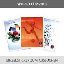 Panini WM World Cup 2018 Einzelsticker 000-231 zum aussuchen to choose