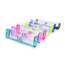 élégante transparente transparent PVC Soft Eye lunettes de protection boîtier 9H