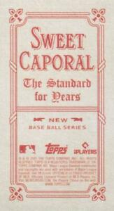 2021 Topps T206 Wave 5 SWEET CAPORAL BACK Cards ~ Pick your card