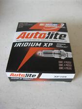 "Autolite XP104 Iridium Spark Plug BOX/SET(4 FOUR) ""$2.50 Per Plug Rebate"""