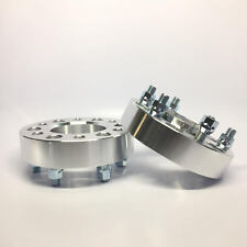 "2X Hubcentric Wheel Spacers ¦ 6x5.5 (6X139.7) ¦ 14X1.5 ¦ 2.0"" INCH 50MM Chevy"