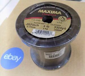 Maxima Mono Fishing Line Chameleon Ultra Green 4-6-10-12-15-20# (Select One) New