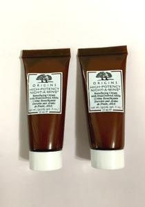 ORIGINS High Potency Night A Minis Resurfacing Cream 0.5oz x2 = 1oz Total NEW