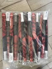 GOLF PRIDE MIDSIZE GRIPS RED-BLACK x13