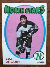 1971/72 Topps Hockey Card #68 Jude Drouin Minnesota North Stars EX
