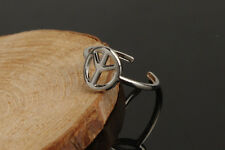 "Fashion Tibetan Silver Adjustable ""Peace"" Sign Toe Ring Finger Ring! TI00105"