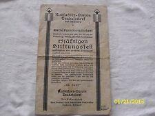 Radfahrer-Verein Trabelsdorf 25jährigen Stiftungsfest 1926