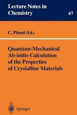 Quantum-Mechanical Ab-initio Calculation of the Properties of Crystalline Materi
