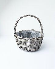 Medium Flower girl basket - flower girl accessories -  Children basket