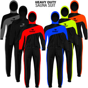 Heavy Duty Sauna Sweat Suit Exercise Gym Suit Fitness Weight Loss with Hoodie