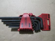 Craftsman 11-pc Long Arm Hex Key Caddy INCH 46811
