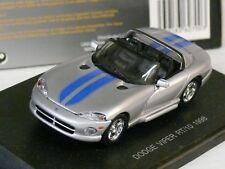 1/43ème DODGE : VIPER RT/10 1998 GRIS METAL - EAGLE'S RACE Réf. 627003 - NEUVE