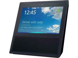 Amazon Echo Show Black 1st Generation MW46WB Bluetooth Smart Speaker with Alexa