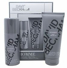 David Beckham Homme 2 Piece Deo Spray and Body Wash Gift Set