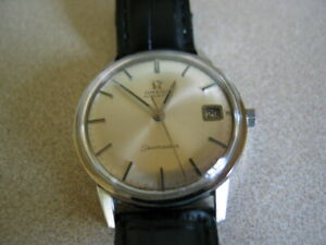 Vintage 1969 Omega Seamaster 565 Cal. Automatic 34mm stainless steel case