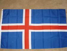 3X5 ICELAND FLAG EUROPEAN FLAGS NEW ICELANDIC F476