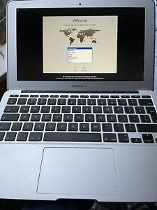 Apple MacBook Air, 11 inch, Mid 2011, 4GB RAM, 128GB SSD, Intel Core i5, Silver