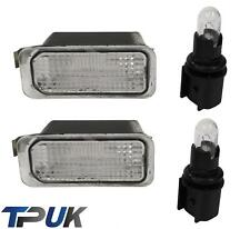FORD FIESTA PAIR OF NUMBER PLATE LIGHT LAMP & BULB FOR 2008 ONWARD