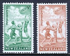 NEW ZEALAND — SCOTT B16-B17 (SG 626-627) — 1940 HEALTH SET — MH — SCV $32.00