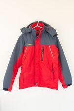Outdoorjk Mens Snow Jacket Size M Fleece Lined Warm Snowboarding Skiing Red