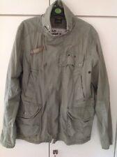 G-Star Raw chaqueta talla L en verde oliva verano chaqueta caballeros