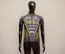 DIADORA Giant Men's Black Cycling Short Sleeves Full Zip Jersey S