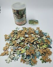 """VINTAGE """"Great Momonts in American History"""" 300 PC Puzzle  Humble & Refining Co."""