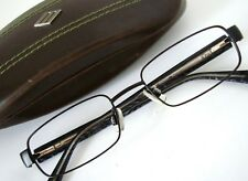 9f04101b8bbd JOE Joseph Abboud 4001 001 Black Silver Eyeglasses Frame 50-18 Men s Small