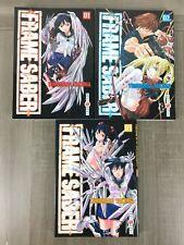 Frame Saber Lot Manga Tomes 1 à 3 / Collection Complète L'intégrale (mangas)