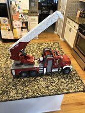 BRUDER Emergency series - MACK Granite fire engine w/express ladder