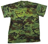Nelly Sweat Suit Tour 2005 Camouflage T Shirt New Official NOS NWT Ranger