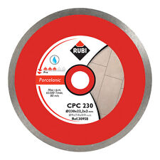 RUBI CPC 200mm DIAMOND BLADE SEGA TAGLIO PORCELLANA - 30956
