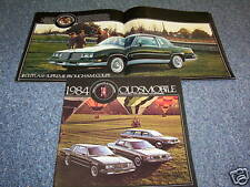 1984 OLDSMOBILE CUTLASS SUPREME, CIERA & CRUISER 32-Page BROCHURE, CATALOG, OLDS