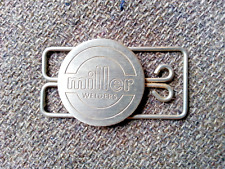 New listing Vintage Advertising Miller Welders Pocket Money Clip